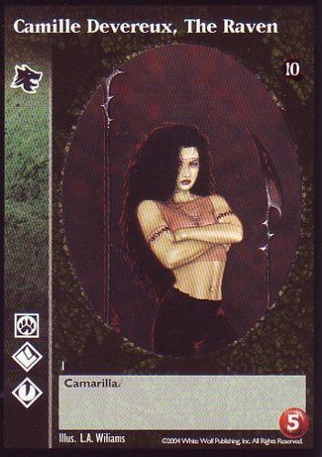 10th Anniversary VTES V:TES Curse of Nitocris Master